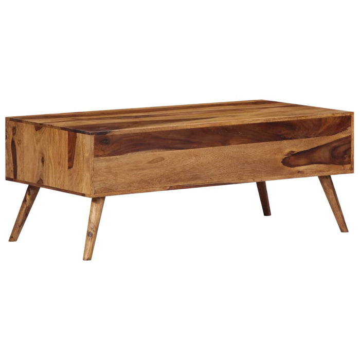 "AbillionZ Collection Coffee Table 39.4""x19.7""x15.4"" Solid Sheesham Wood - AbillionZ"