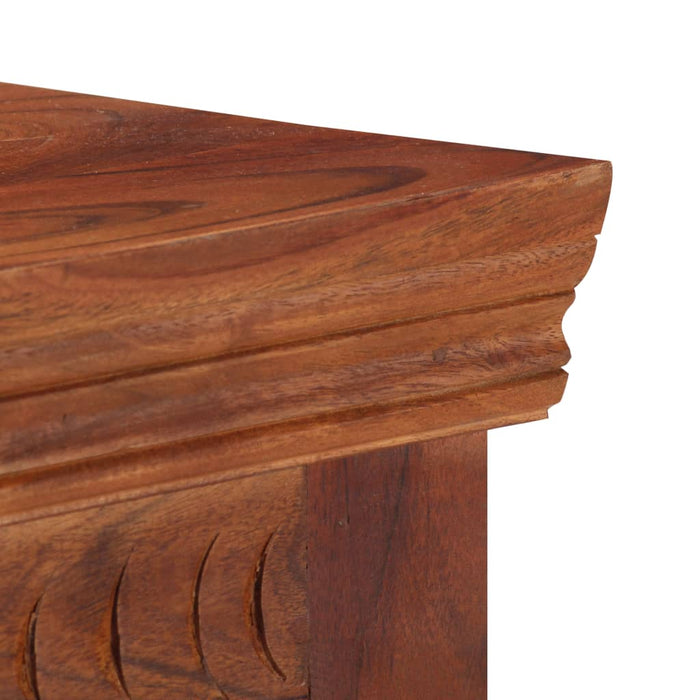 "AbillionZ Collection Sideboard 19.7""x11.8""x29.4"" Solid Acacia Wood - AbillionZ"