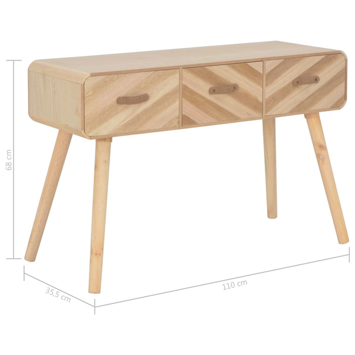 "AbillionZ Collection Console Table 39.4""x13.8""x26.8"" Solid Wood - AbillionZ"