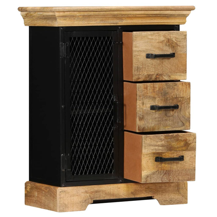 "AbillionZ Collection Sideboard 23.6""x11.8""x29.5"" Solid Mango Wood - AbillionZ"