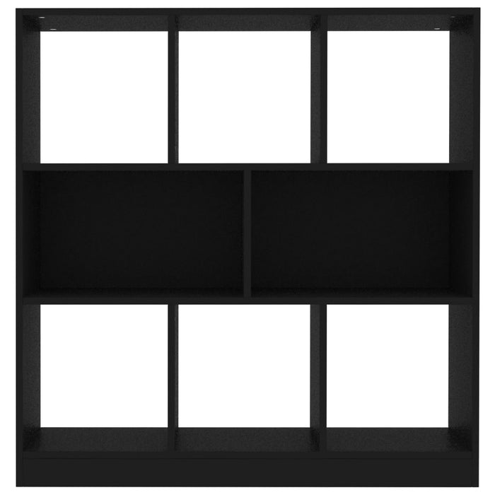 "AbillionZ Collection Book Cabinet Black 38.4""x11.6""x39.4"" Chipboard"