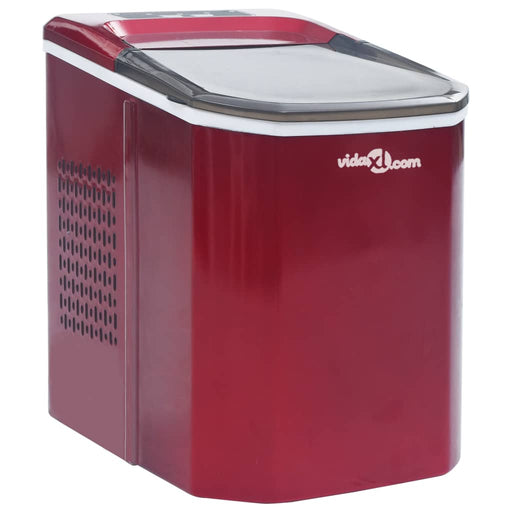 AbillionZ Collection Ice Cube Maker Red 0.37 Gallon 33.1 lbs / 24 h - AbillionZ