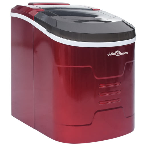 AbillionZ Collection Ice Cube Maker Red 0.63 Gallon 33.1 lbs / 24 h - AbillionZ