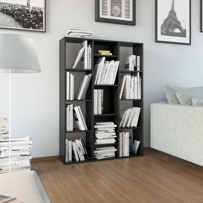 "AbillionZ Collection Room Divider/Book Cabinet Black 39.3""x9.4""x55.1"" Chipboard - AbillionZ"