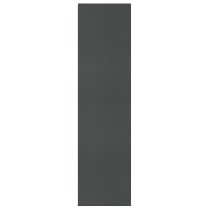 "AbillionZ Collection Book Cabinet/Room Divider Gray 61""x9.4""x63"" Chipboard - AbillionZ"