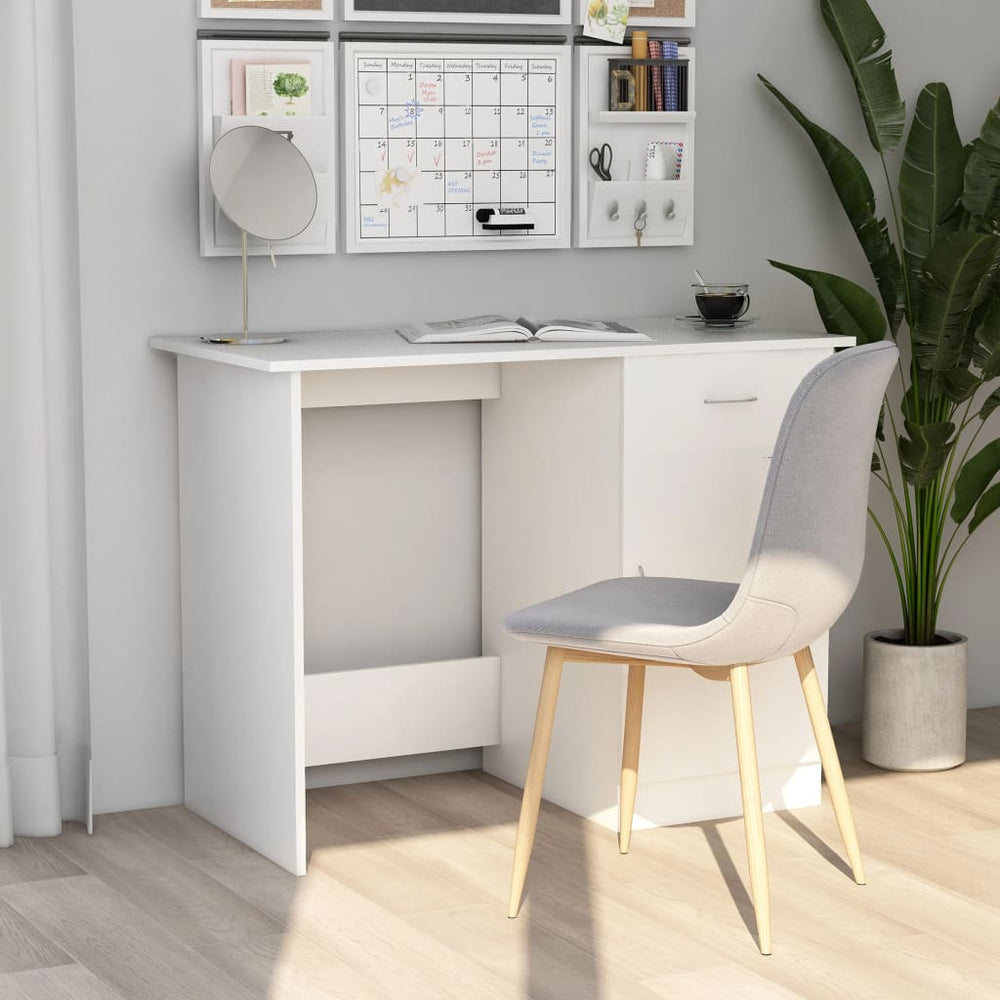 "AbillionZ Collection Desk White 39.4""x19.7""x29.9"" Chipboard - AbillionZ"