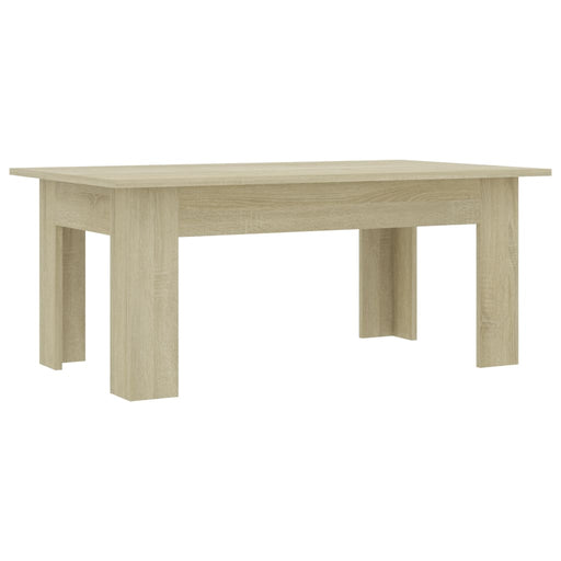 "AbillionZ Collection Coffee Table Sonoma Oak 39.4""x23.6""x16.5"" Chipboard - AbillionZ"