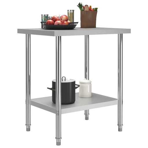 "AbillionZ Collection Kitchen Work Table 31.5""x23.6""x33.5 Stainless Steel - AbillionZ"