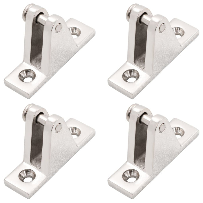 AbillionZ Collection Boat Deck Hinges for Bimini Top 4 pcs Stainless Steel - AbillionZ