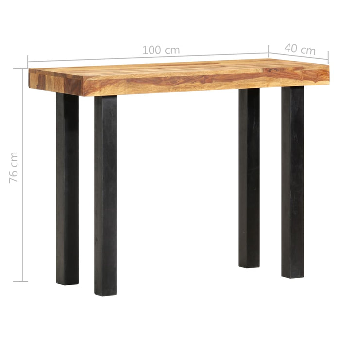 "AbillionZ Collection Console Table 39.4""x15.7""x29.9"" Solid Sheesham Wood - AbillionZ"