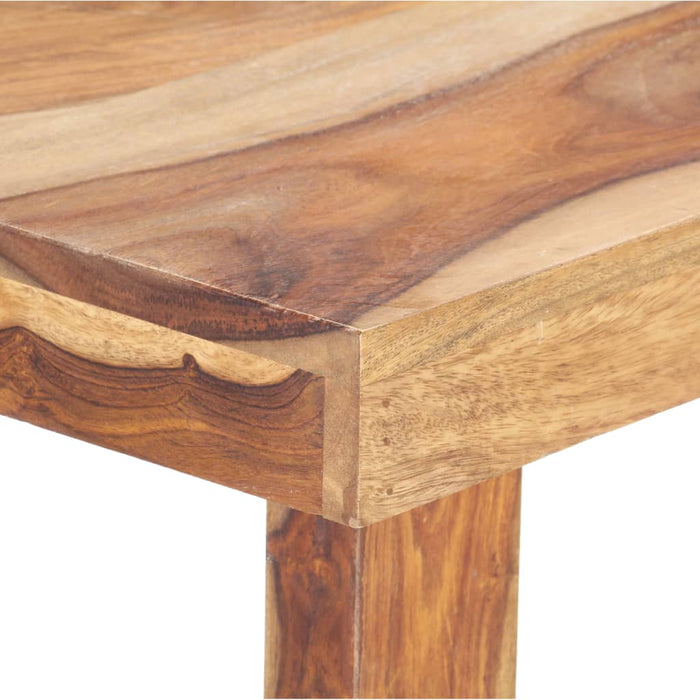 "AbillionZ Collection Dining Table 55.1""x27.6""x29.9"" Solid Sheesham Wood - AbillionZ"