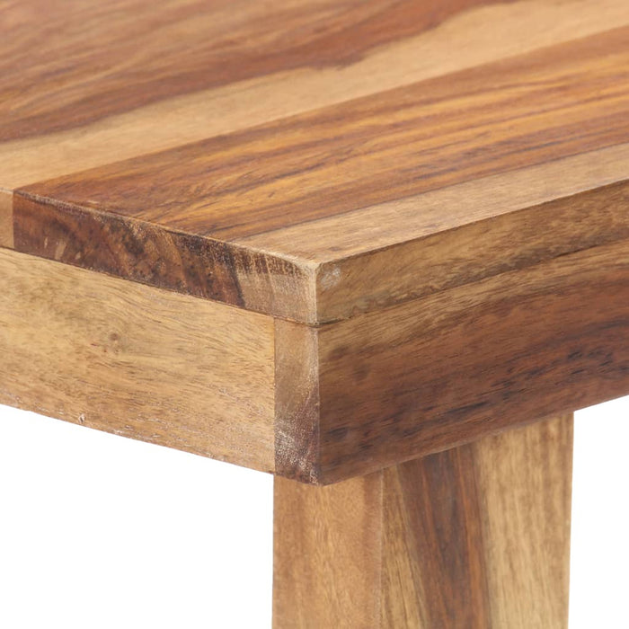 "AbillionZ Collection Dining Table 46.5""x23.6""x29.9"" Solid Sheesham Wood - AbillionZ"