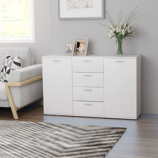 "AbillionZ Collection Sideboard White 47.2""x14""x29.5"" Chipboard - AbillionZ"