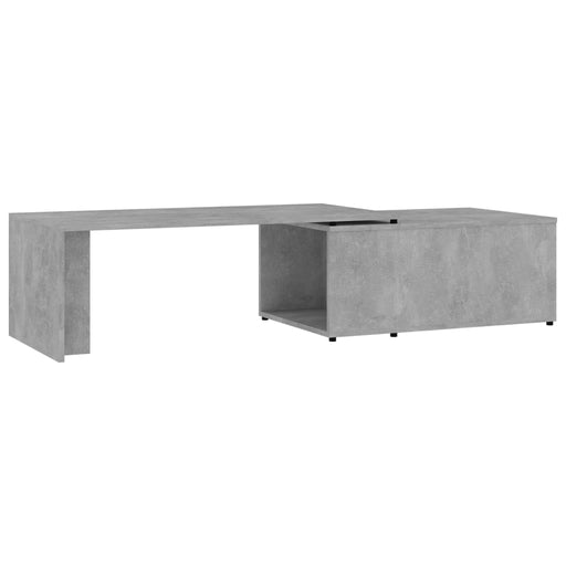"AbillionZ Collection Coffee Table Concrete Gray 59.1""x19.7""x13.8"" Chipboard - AbillionZ"