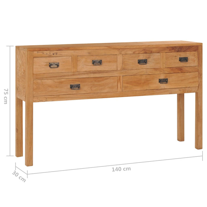 "AbillionZ Collection Sideboard 55.1""x11.8""x29.5"" Solid Teak Wood - AbillionZ"