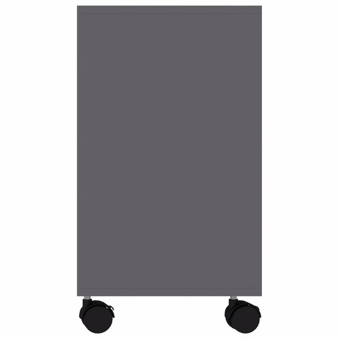 "AbillionZ Collection Side Table Gray 27.6""x13.8""x21.7"" Chipboard - AbillionZ"