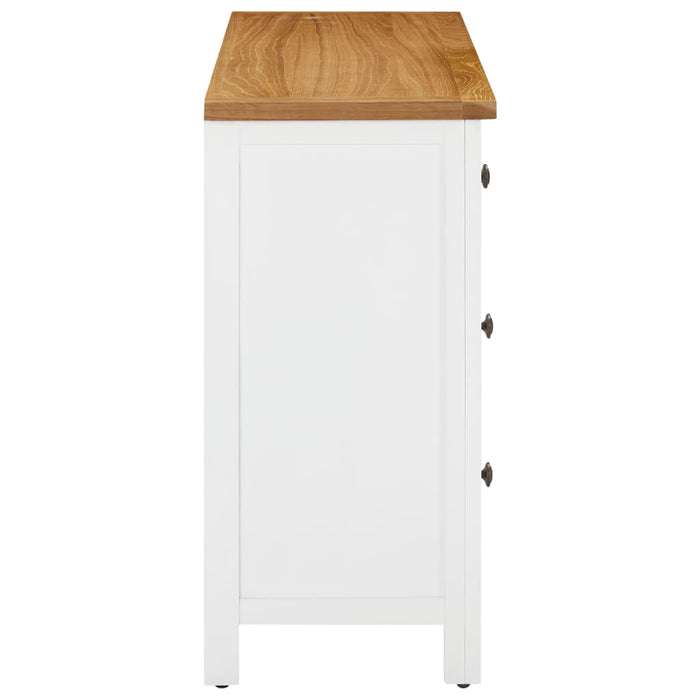 "AbillionZ Collection Chest of Drawers 41.3""x13.2""x28.7"" Solid Oak Wood - AbillionZ"