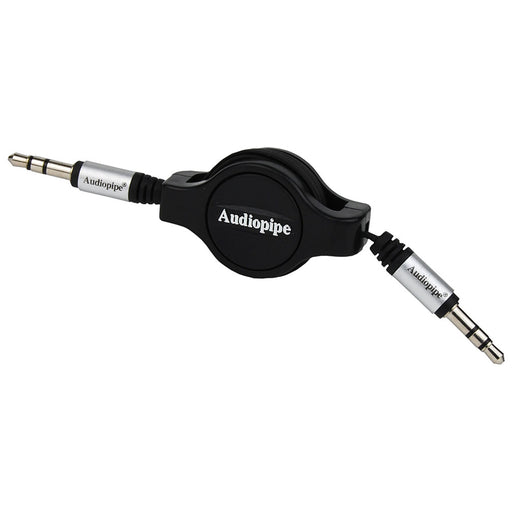 Audiopipe 3.5 to 3.5 Jack Plug 3 Ft Retractable - AbillionZ