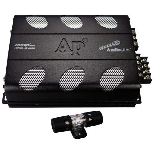 Audiopipe Amplifier D Class 4 Channel 800 Watts Max