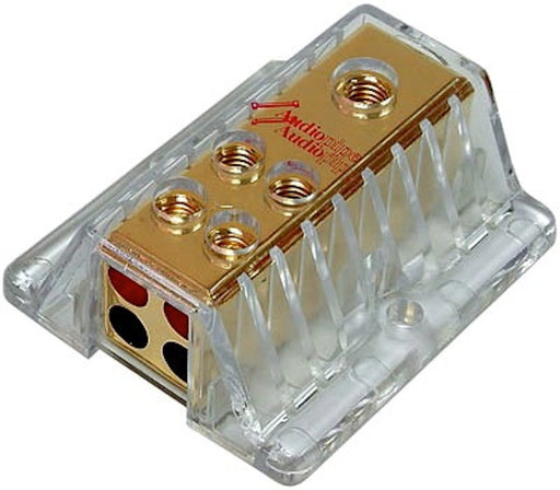 DISTRIBUTION BLOCK AUDIOPIPE 1 IN 4 OUT