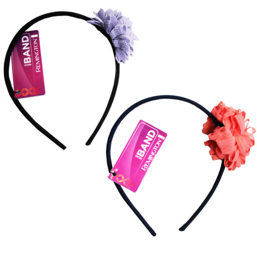 1 Count Flower Head Band in Assorted Colors - Wholesale Case PACK of 72 - AbillionZ