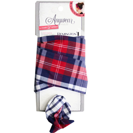 1 Count Wire Head Scarf in Assorted Plaid - Wholesale Case PACK of 80 - AbillionZ