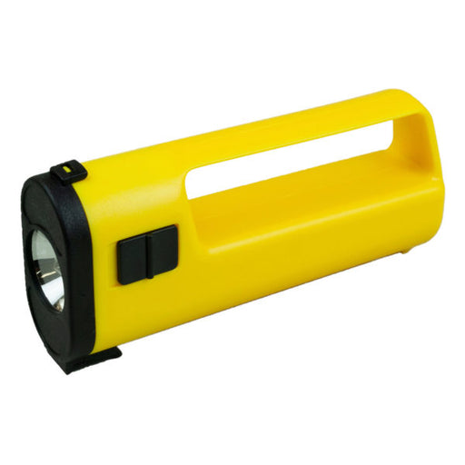 Yellow Flashlight with Handle - Wholesale Case PACK of 96 - AbillionZ