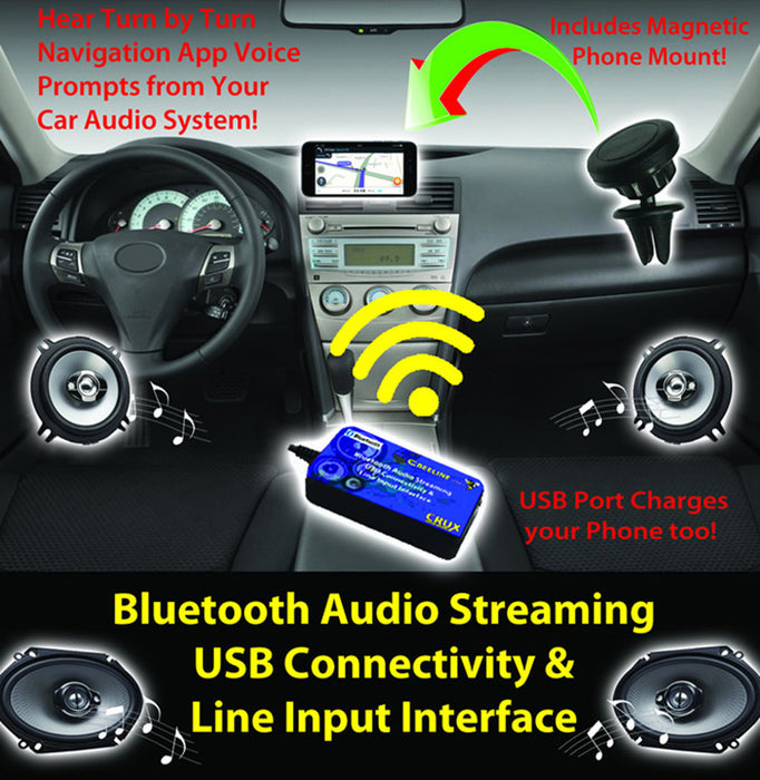 Crux Bluetooth Streaming for select Honda Vehicles 1998-2005 - AbillionZ