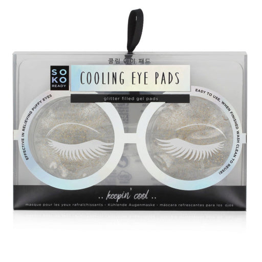 Soko Ready Cooling Gel Eye Pads - Wholesale Case PACK of 96 - AbillionZ