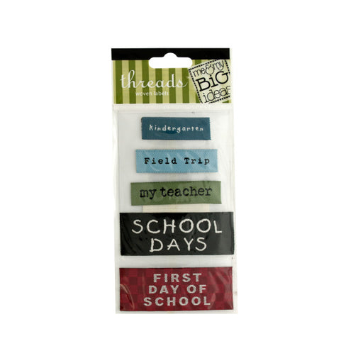 School Woven Labels - Wholesale Case PACK of 144 - AbillionZ