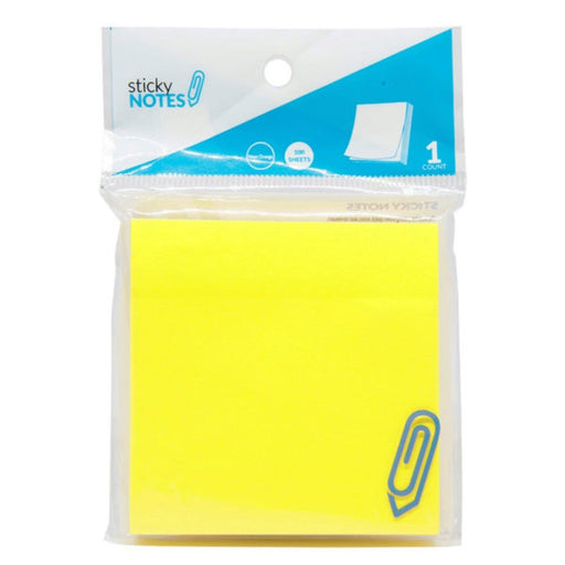 "3"" X 3"" Yellow Sticky Notes - Wholesale Case PACK of 96 - AbillionZ"
