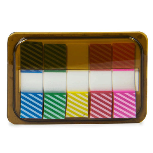 Mini Sticky Page Markers, Striped - Wholesale Case PACK of 96 - AbillionZ