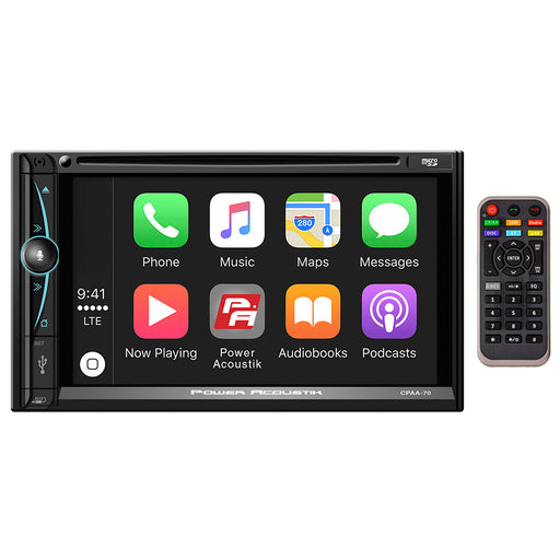 "Power Acoustik D.Din 7"" Touchscreen Android Auto Apple Car Play AM/FM/CD/BT"