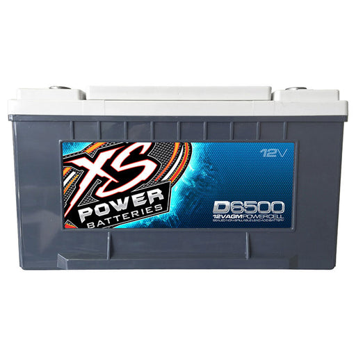 XS POWER  65 AGM BATTERY MA: 3900A CA: 1070 Ah:  75  3000W / 4000W