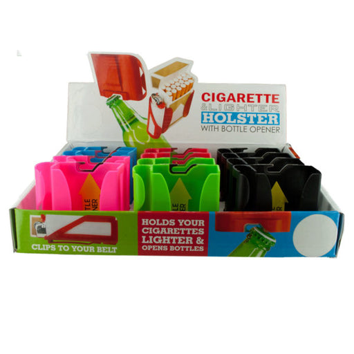 Cigarette Holster with Bottle opener Countertop Display - Wholesale Case PACK of 96 - AbillionZ