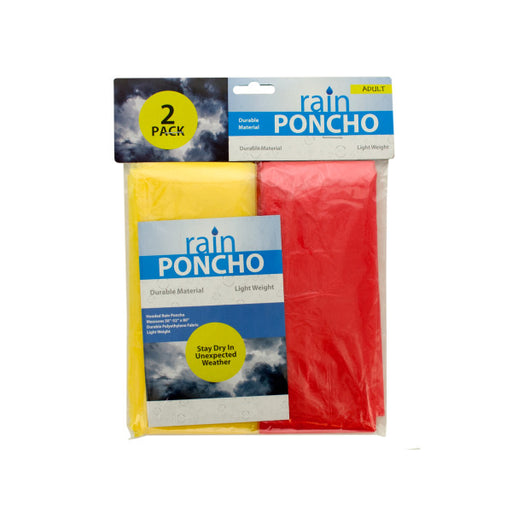 Emergency Rain Ponchos - Wholesale Case PACK of 144 - AbillionZ