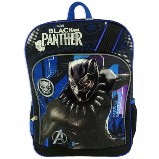 "Marvel's Black Panther 16"" Avengers Backpack w/Bottle Holder - Wholesale Case PACK of 8 - AbillionZ"