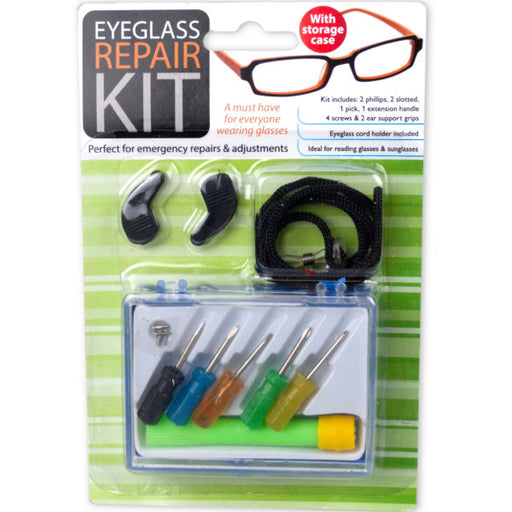 Eyeglass Repair Kit with Case - Wholesale Case PACK of 144 - AbillionZ
