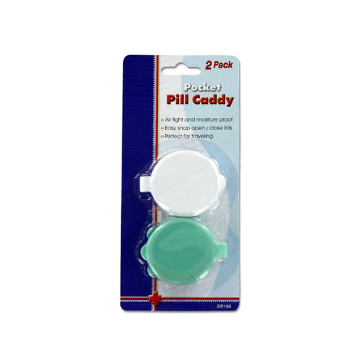 Pocket Pill Caddy Set - Wholesale Case PACK of 144 - AbillionZ