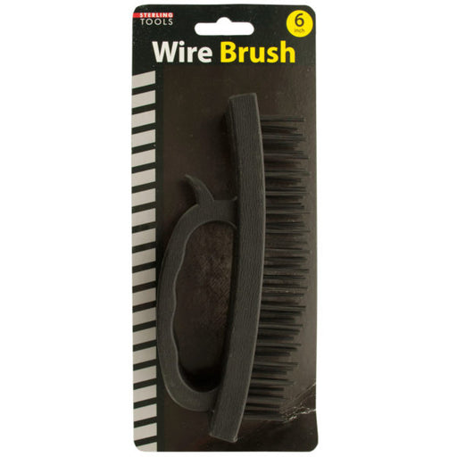Wire Brush with Handle - Wholesale Case PACK of 48 - AbillionZ