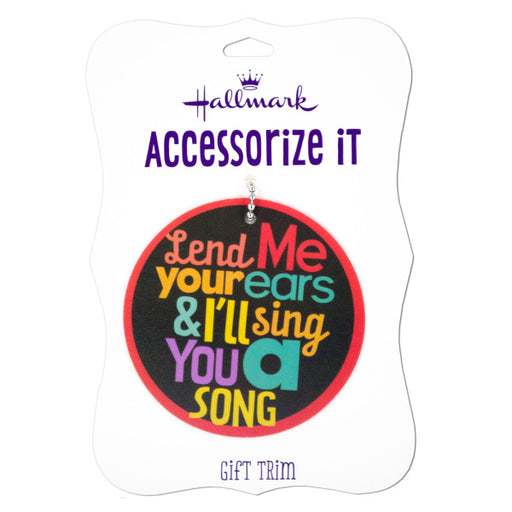 'Lend Me Your Ear' Gift Trim Tag - Wholesale Case PACK of 192 - AbillionZ