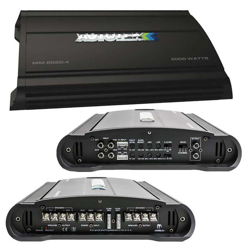 Autotek Mean Machine Amplifier 2000 Watts 4 Channel