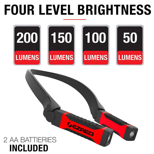 Ezred Bright NK10 ANYWEAR Neck Light for Hands-Free Lighting
