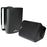 "Audiopipe 4"" Indoor/Outdoor Weatherproof Loudspeakers-Black-Pair"