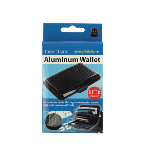 Aluminum Credit Card Wallet - Wholesale Case PACK of 72 - AbillionZ