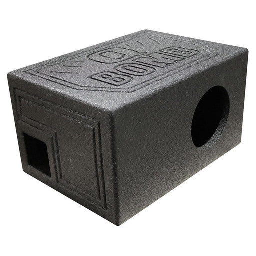 "Qpower Single 6.5"" Enclosure Vented QBOMB with Spray liner - AbillionZ"