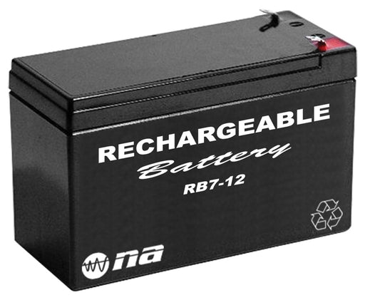 12V RECHARGEABLE BATTERY 7AH NIPPON AMERICA - AbillionZ