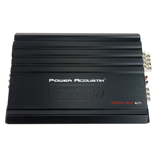 Power Acoustik Vertigo Series 4 Channel Amplifier 2200W Max