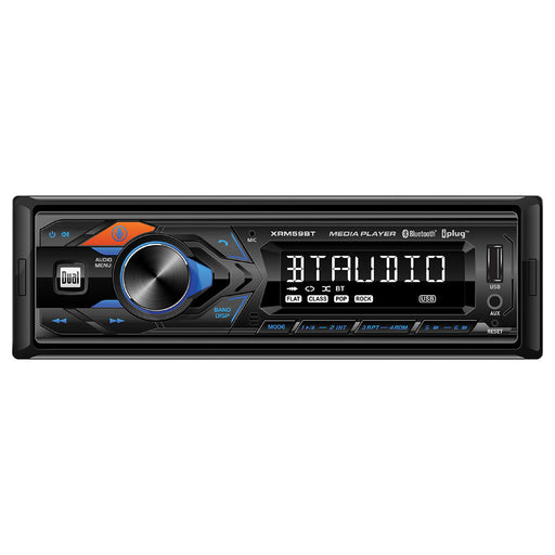 Dual Single Din Mechless Bluetooth USB and AUX Digital Receiver - AbillionZ