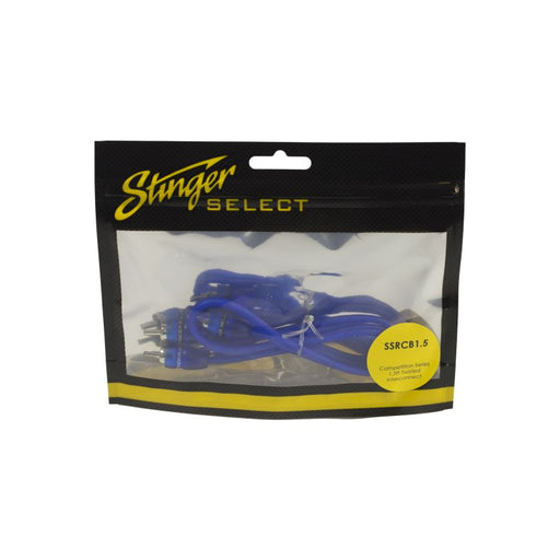 STINGER 15FT BLUE COMP SERIES TWISTED RCA - AbillionZ